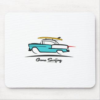 El 1955 practicar surf idos cupé de Chevy Hardtop Tapetes De Ratón