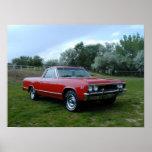 EL 1967 de Chevrolet Camino Impresiones