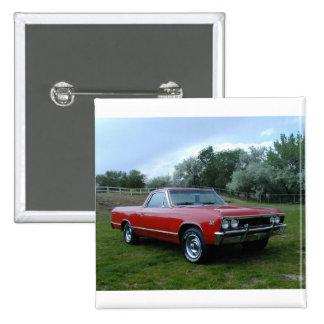 EL 1967 de Chevrolet Chevelle Camino Pin