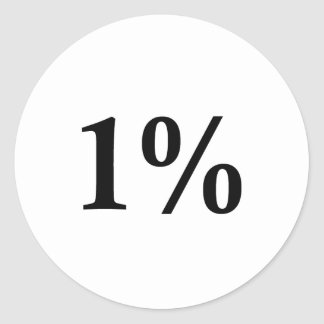 el 1% etiqueta