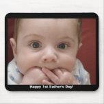 ¡El 1r día de padre feliz! Alfombrillas De Ratones