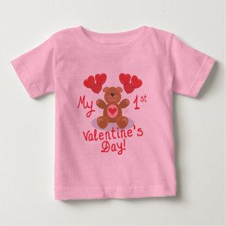 El 1r el día de San Valentín del bebé Camisas