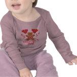 El 1r el día de San Valentín del bebé Camisetas
