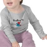 El 1r feliz cumpleaños del bebé camisetas
