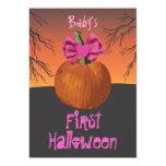 El 1r fiesta de Halloween de las niñas invita Anuncio
