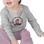 El 1r navidad del bebé camiseta