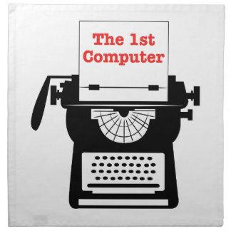 El 1r ordenador servilleta