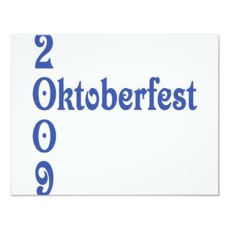 el 2009 más oktoberfest invitacion personalizada