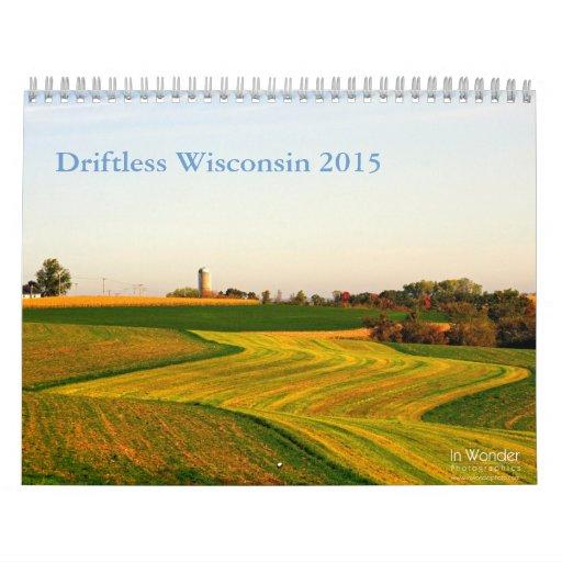 El 2015 sin propósito de Wisconsin Calendario