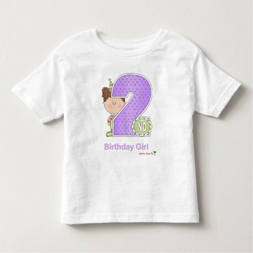 El 2do cumpleaños del chica playera de bebé