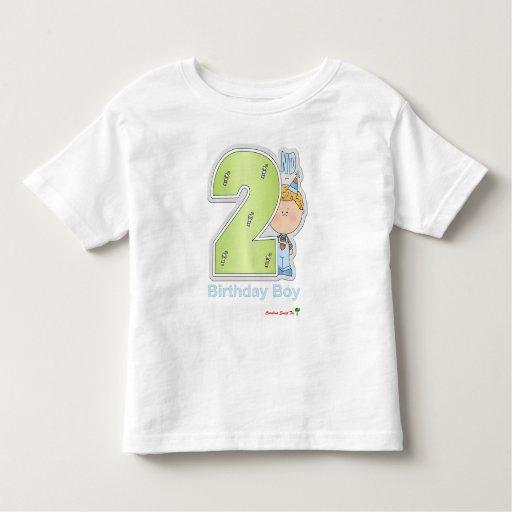 El 2do cumpleaños del muchacho tee shirt