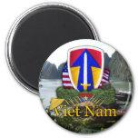 el 2do rvn de la guerra de Vietnam del remiendo de Imanes Para Frigoríficos