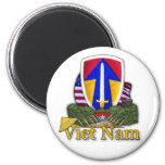 el 2do rvn de la guerra de Vietnam del remiendo de Imán De Frigorífico