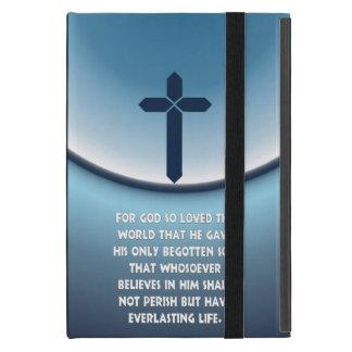 El 3:16 de Juan para dios amó tan el mundo iPad Mini Cárcasa