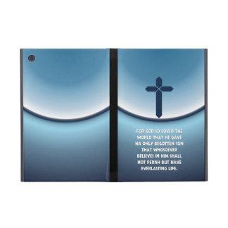 El 3:16 de Juan para dios amó tan el mundo iPad Mini Fundas