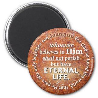 El 3:16 de Juan para dios amó tan el verso de la b Imán Para Frigorifico