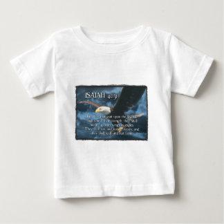 El 40:31 de ISAÍAS monta para arriba con las alas T-shirt