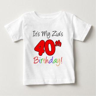 El 40.o cumpleaños de Zia Remera