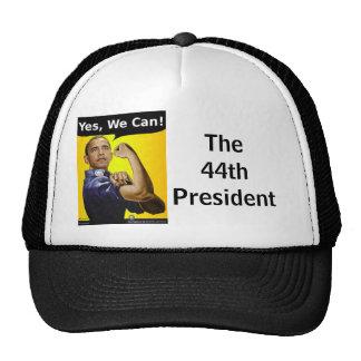 El 44.o presidente gorras