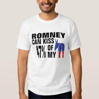 El 47% de mi Democratic… Remeras