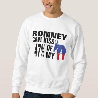 El 47% de mi Democratic… Sudaderas Encapuchadas