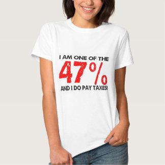 El 47 por ciento remera