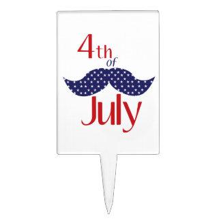 el 4 de julio palillos de tarta