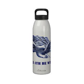 el 4 de julio botellas de beber