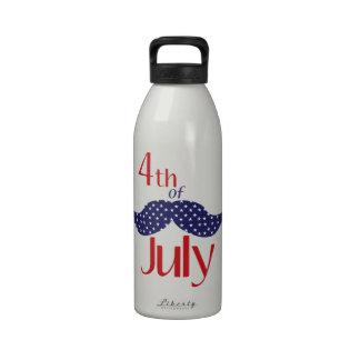 el 4 de julio botellas de agua reutilizables