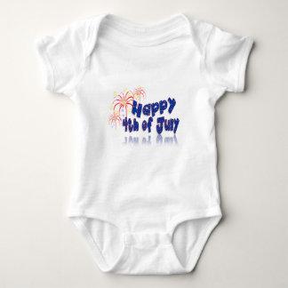 el 4 de julio body para bebé