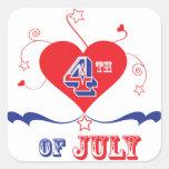 el 4 de julio colcomanias cuadradases