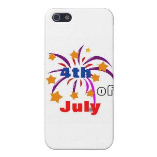 el 4 de julio iPhone 5 funda