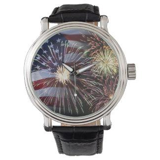 el 4 de julio relojes de pulsera