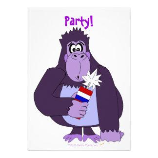 El 4to divertido del fiesta del gorila de los fueg