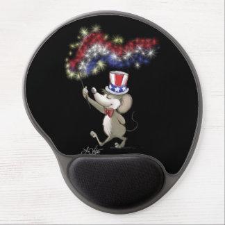 El 4to feliz de Moe del gel Mousepad de la noche d Alfombrilla De Ratón Con Gel
