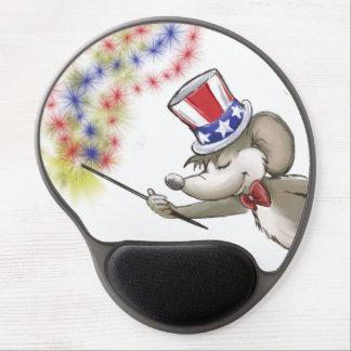 El 4to feliz de Moe del gel Mousepad del retrato d Alfombrillas De Raton Con Gel
