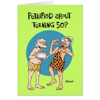 El 50.o cumpleaños del hijo tarjeta de felicitación