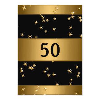 El 50.o metal de bronce elegante del oro comunicado personalizado