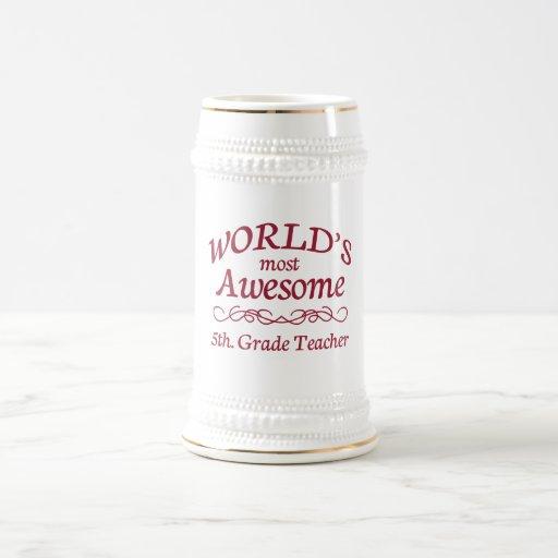 El 5to más impresionante del mundo. Profesor del Jarra De Cerveza