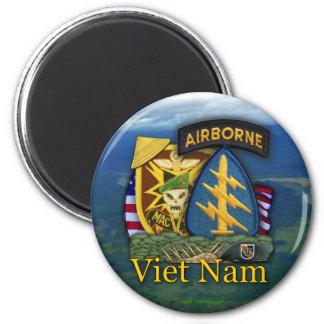 el 5to sog Vietnam del macv de las boinas verdes r Imán De Frigorífico
