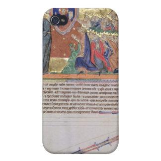 El 7mo ángel que sopla su trompeta iPhone 4/4S carcasas