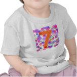 el 7mo cumpleaños hincha la camisa de los niños