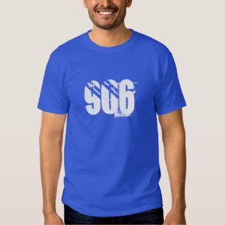 """""""el 906"""" camiseta superior de la península del poleras"""