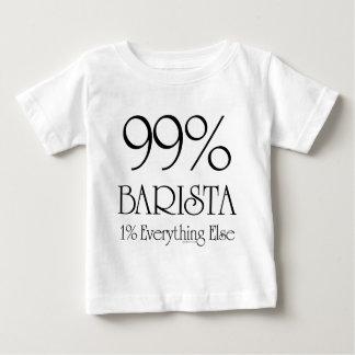 El 99% Barista Playera De Bebé