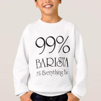 El 99% Barista Sudadera