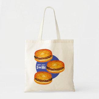 El 99¢ feliz de Jack de las hamburguesas retras de