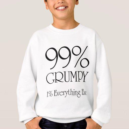 El 99% gruñón sudadera