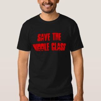 El 99 por ciento ahorra la clase media remeras