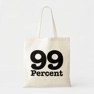 El 99 por ciento bolsa tela barata