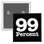 El 99 por ciento pins